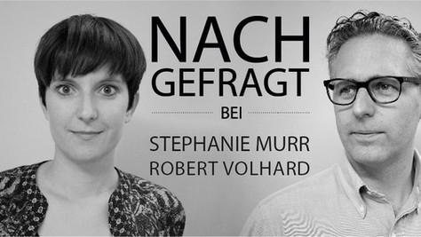 NACHGEFRAGT bei Stephanie Murr und  Robert Volhard //  STYLEPARK