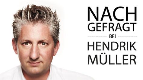 NACHGEFRAGT bei Hendrik Müller //  einszu33
