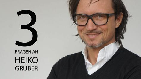 3 Fragen an Heiko Gruber