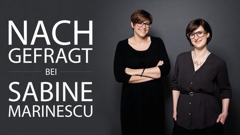 NACHGEFRAGT bei Sabine Marinescu //  PLOT