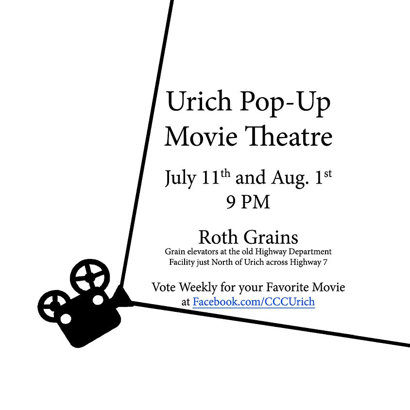 Urich Pop-Up Drive-In Theatre