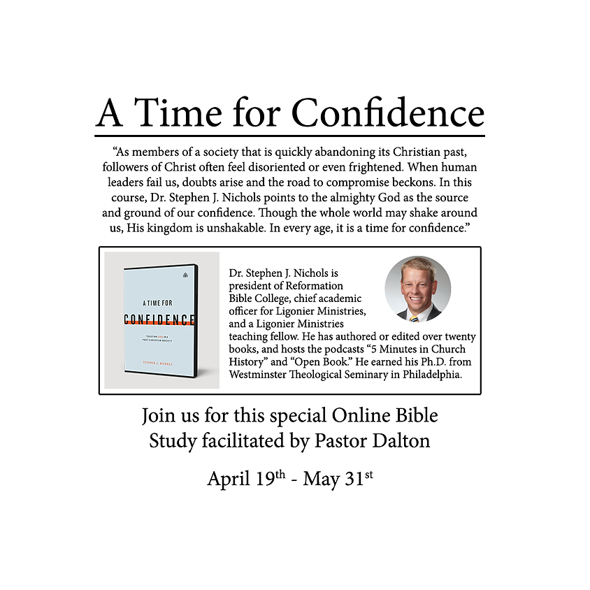 A Time For Confidence - Online Study