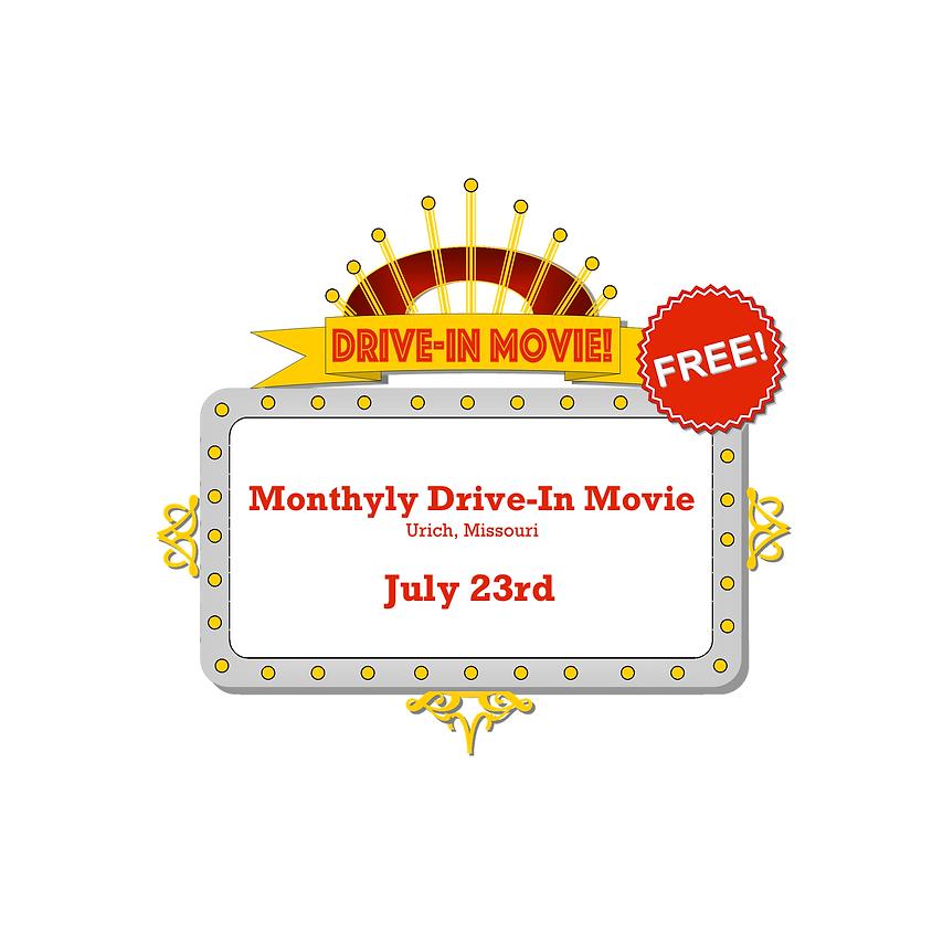 Urich Drive-In Movie: July