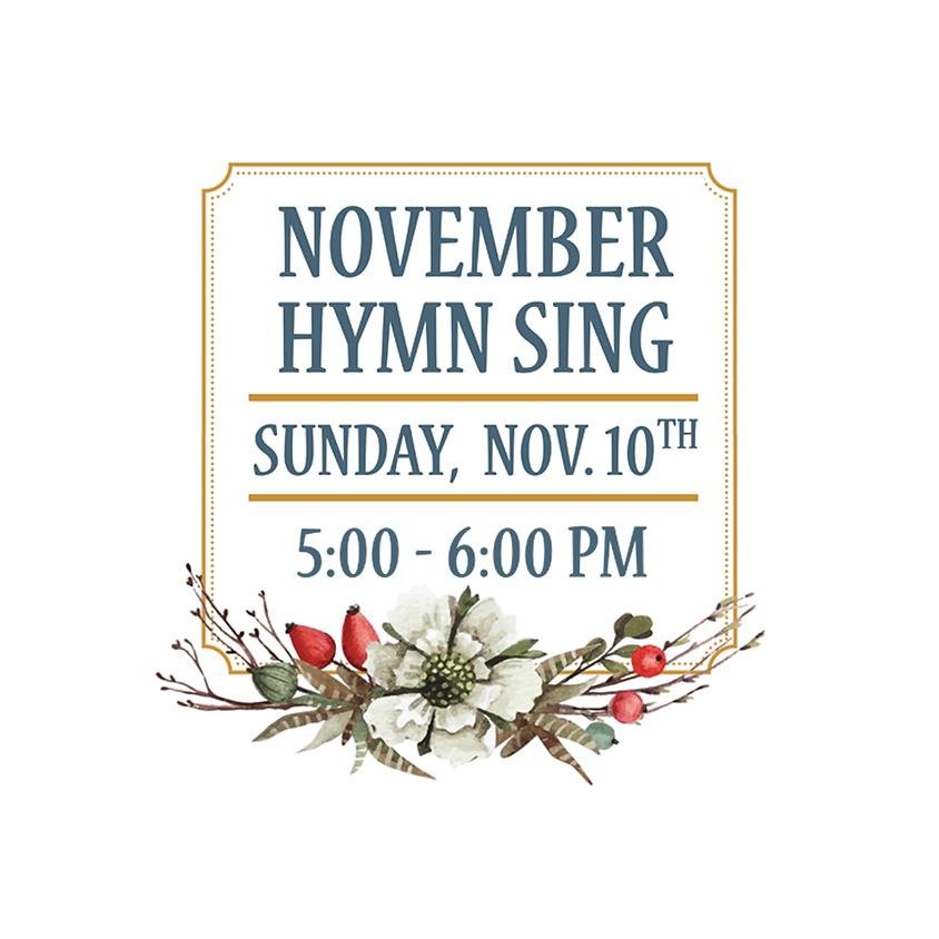November Hymn Sing