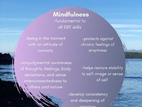 Mindfulness in DBT