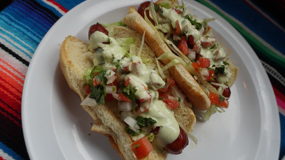 Hot Dog Michoacano