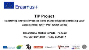 Porto's Transnational Project Meeting