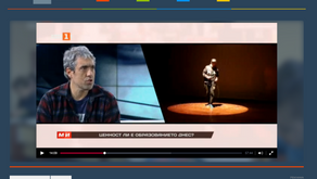 Yavor Kostov talking about the his experience in the Second Chance School in Matosinhos