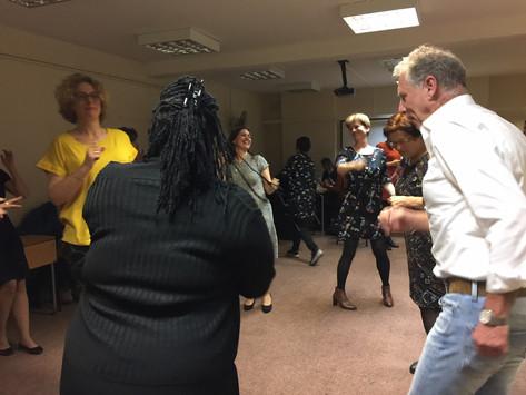 Dancing through the TIP workshop