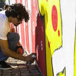 Murals to interpret the National Program of Literature, Portugal