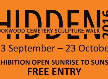 Hidden Rookwood Cemetery Sculpture Walk 23 September to 23 October 2016