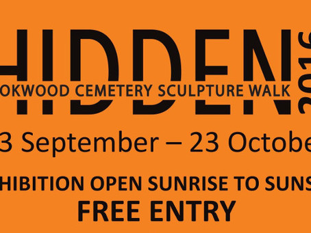 Hidden Rookwood Cemetery Sculpture Walk 23 September to 23 October 2016