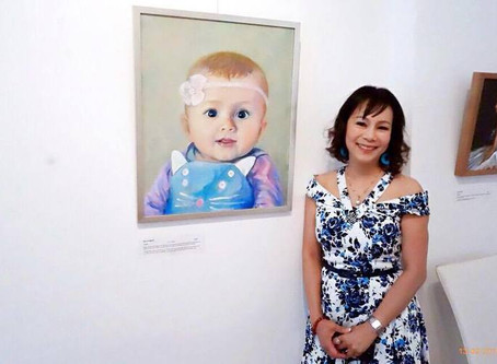 Finalist in 2016 Who is Looking at You? Portrait Prize