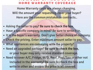 Home Warranty Mishaps