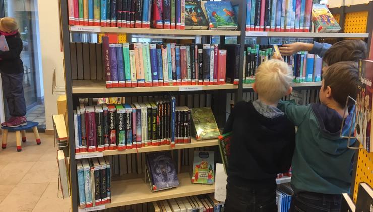 Büchereibesuch