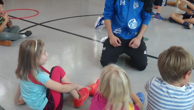 Haandball-Aktionstag mit dem Bayrischen Handball-Verband