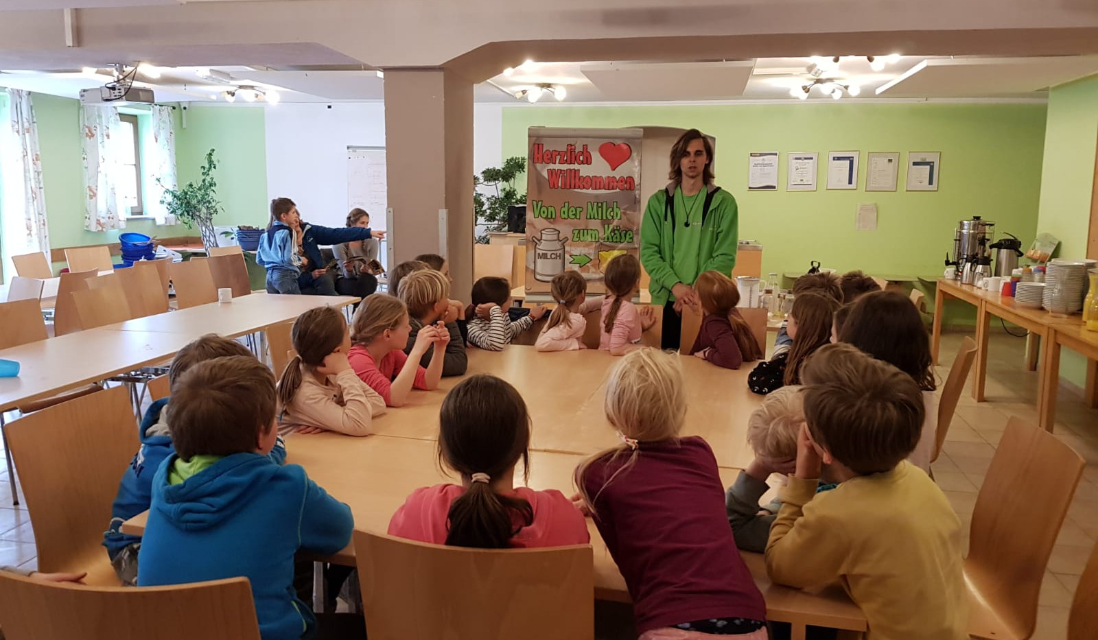 Workshop im Schullandheim