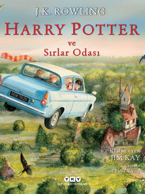 Harry Potter ve Sırlar Odası Resimli