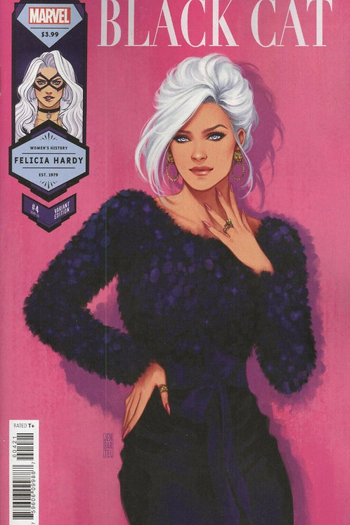 Black Cat #4 Women's History Month Variant Cover