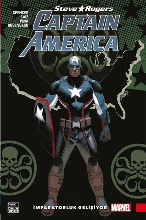 Captain Amerika Steve Rogers Cilt 3 İmparatorluk Gelişiyor