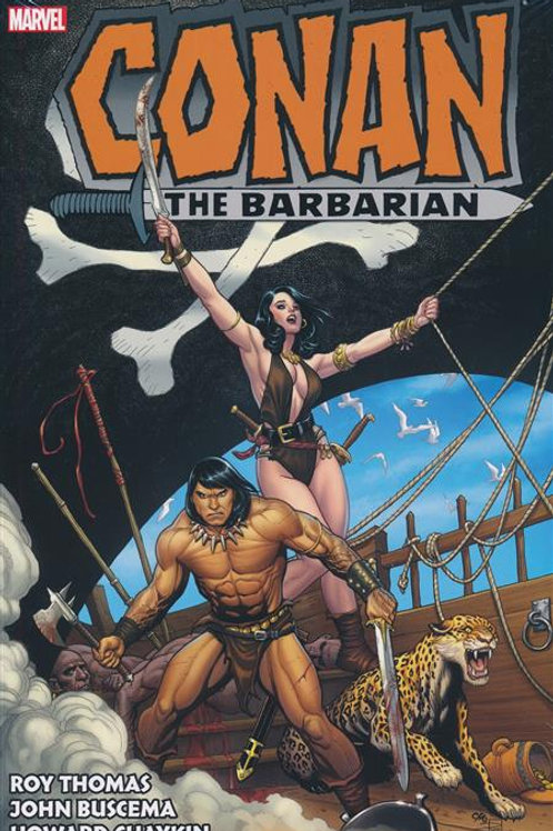 Conan Barbarian Original Marvel Years Omnibus HC Vol 03
