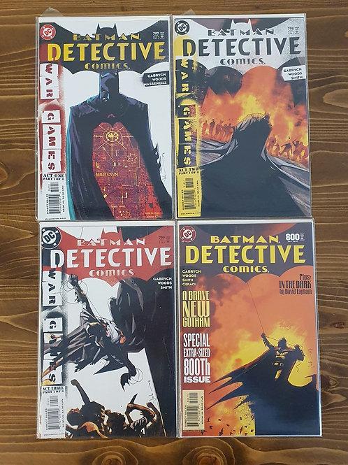 Detective Comics #797-798-799-800 Tam Set