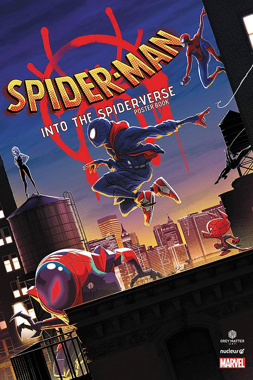 Spider-Man: Into the Spider-Verse Poster Book