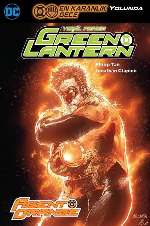 Green Lantern Cilt 9 En Karanlık Gece Yolunda
