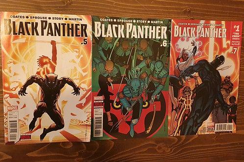 Black Panther (2016) #5-6-7