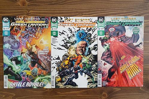 Hal Jordan and the Green Lantern Corps #48-49-50