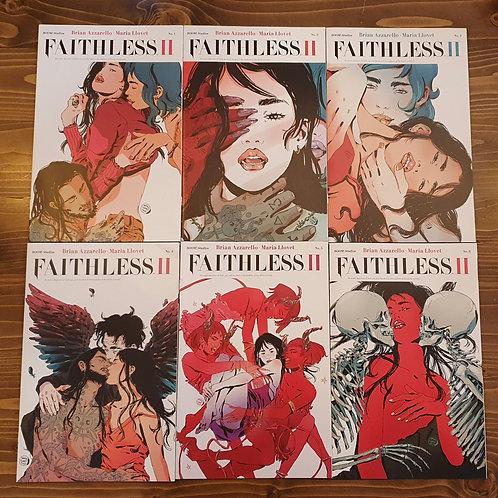 Faithless II #1-2-3-4-5-6 Set