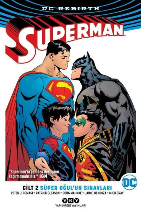 Superman Cilt 2 Super Oğul'un Sınavları