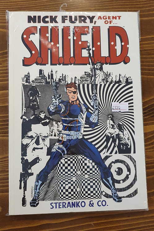 Nick Fury Agent of S.H.I.E.L.D.