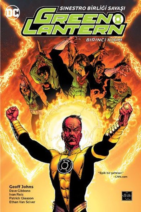 Green Lantern Cilt 6 Sinestro Birliği Savaşı