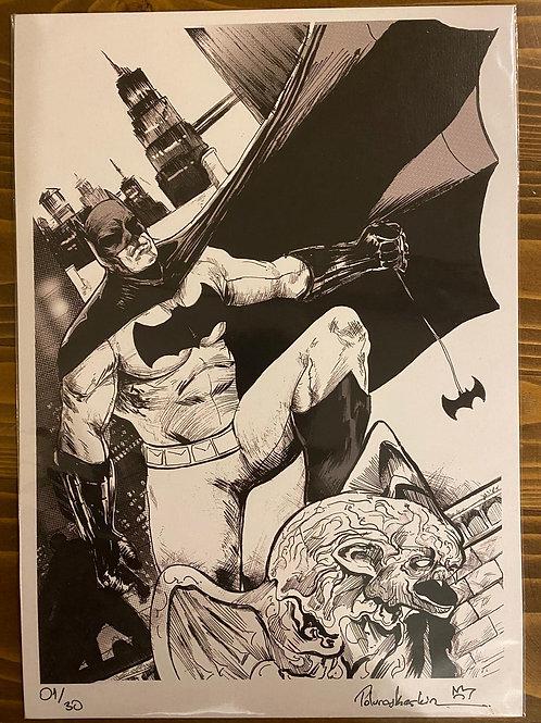 Tolunay Keskin Batman Baskı