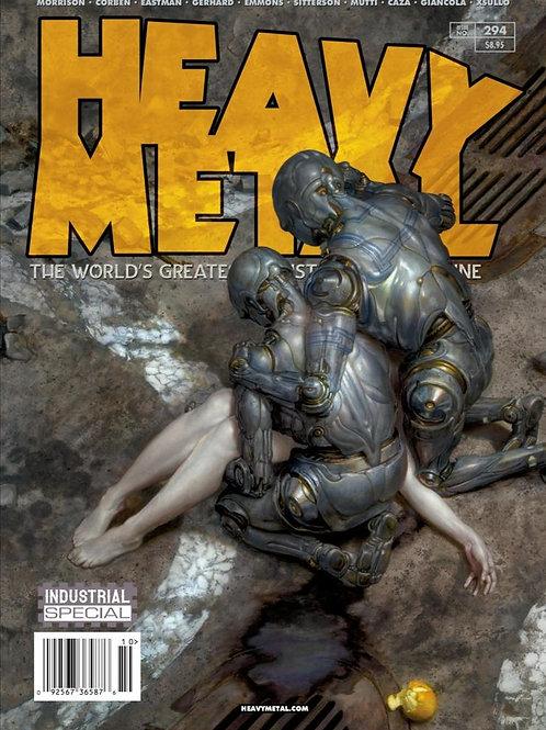 Heavy Metal 294 - Donato Giancola A Kapak
