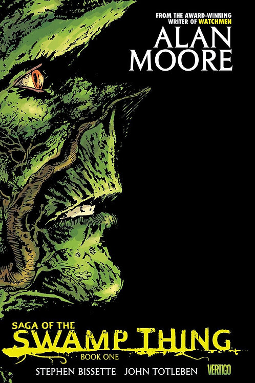 Alan Moore's Saga of the Swamp Thing Book 1