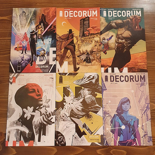 Decorum #1-2-3-4-5-6 Set