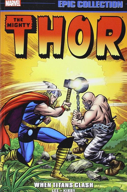 Marvel Epic Collection Thor Volume 2: When Titans Clash