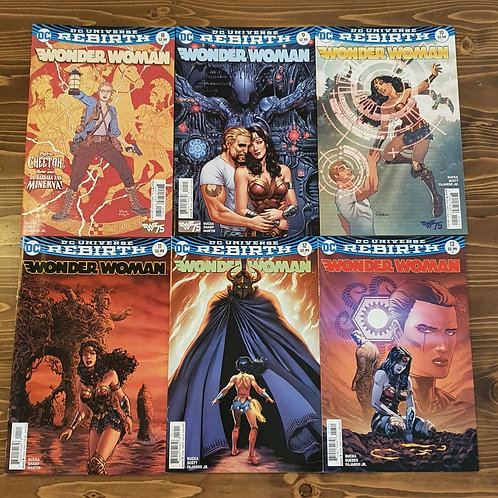 Wonder Woman #8-9-10-11-12-13