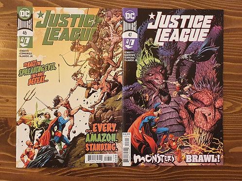 Justice League (2016) #46-47