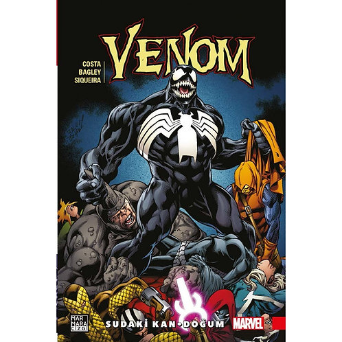 Venom Cilt 3 Sudaki Kan-Doğum