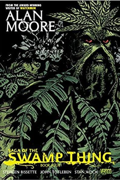 Alan Moore's Saga of the Swamp Thing Book 4