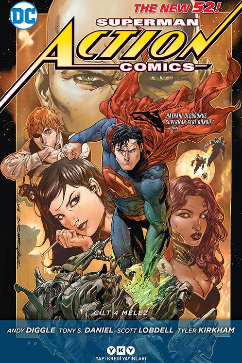 Action Comics Cilt 4 : Melez