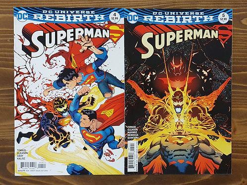 Superman Rebirth #4-5