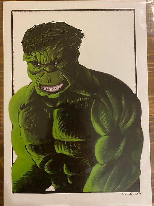 Sinan Eronat Hulk Baskı