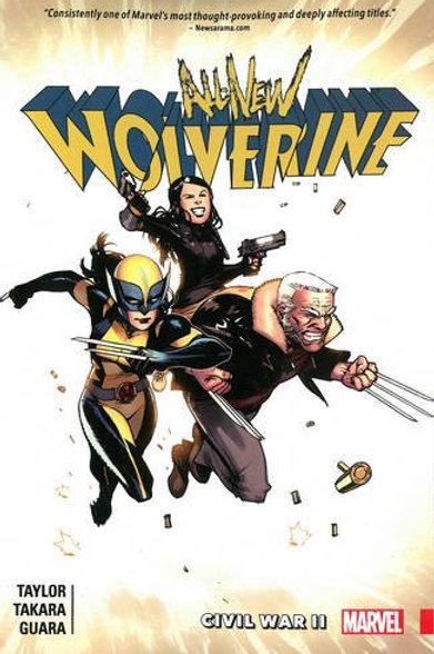 All-New Wolverine Volume 2: Civil War II
