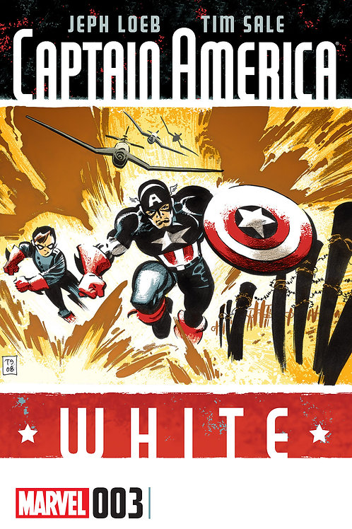 Captain America White #3