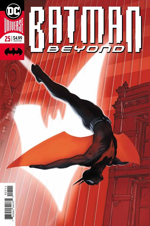 Batman Beyond #25 Foil Cover