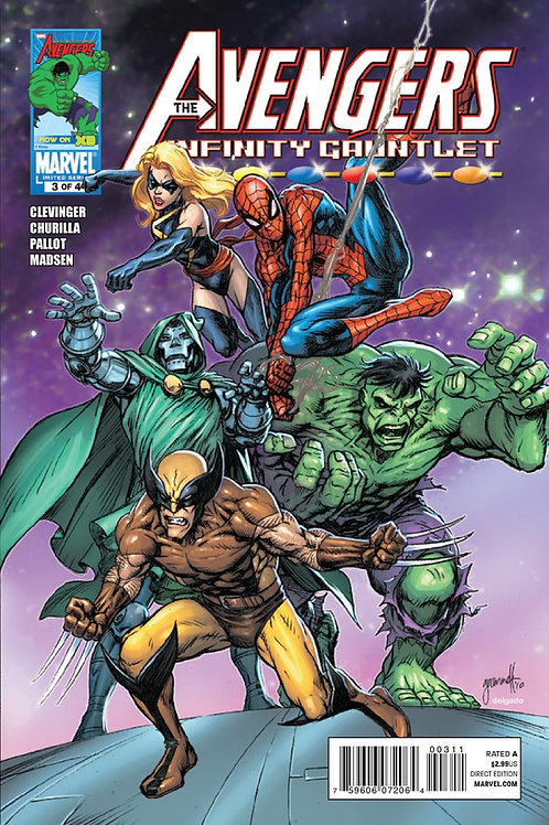 The Avengers Infinity Gauntlet #3